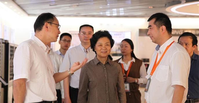 浙江省政协主席乔传秀一行莅临公司指导工作